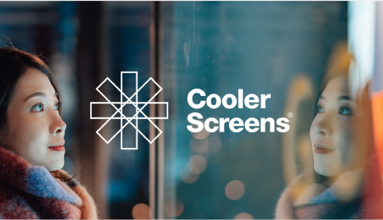 Cooler screens experience