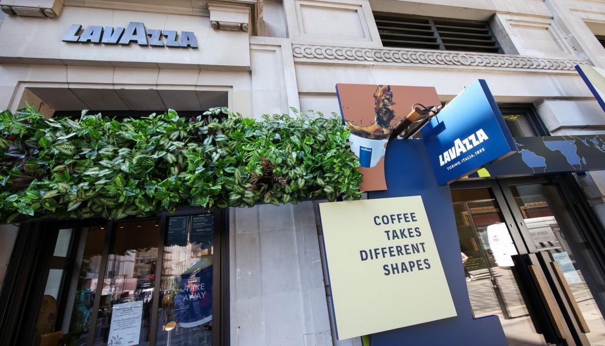 Lavazza coffee shop