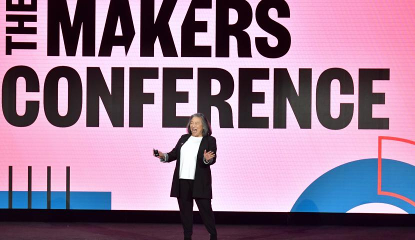 Talent on stage at The MAKERS Conference