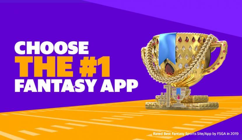 Choose the #1 Fantasy App Graphic